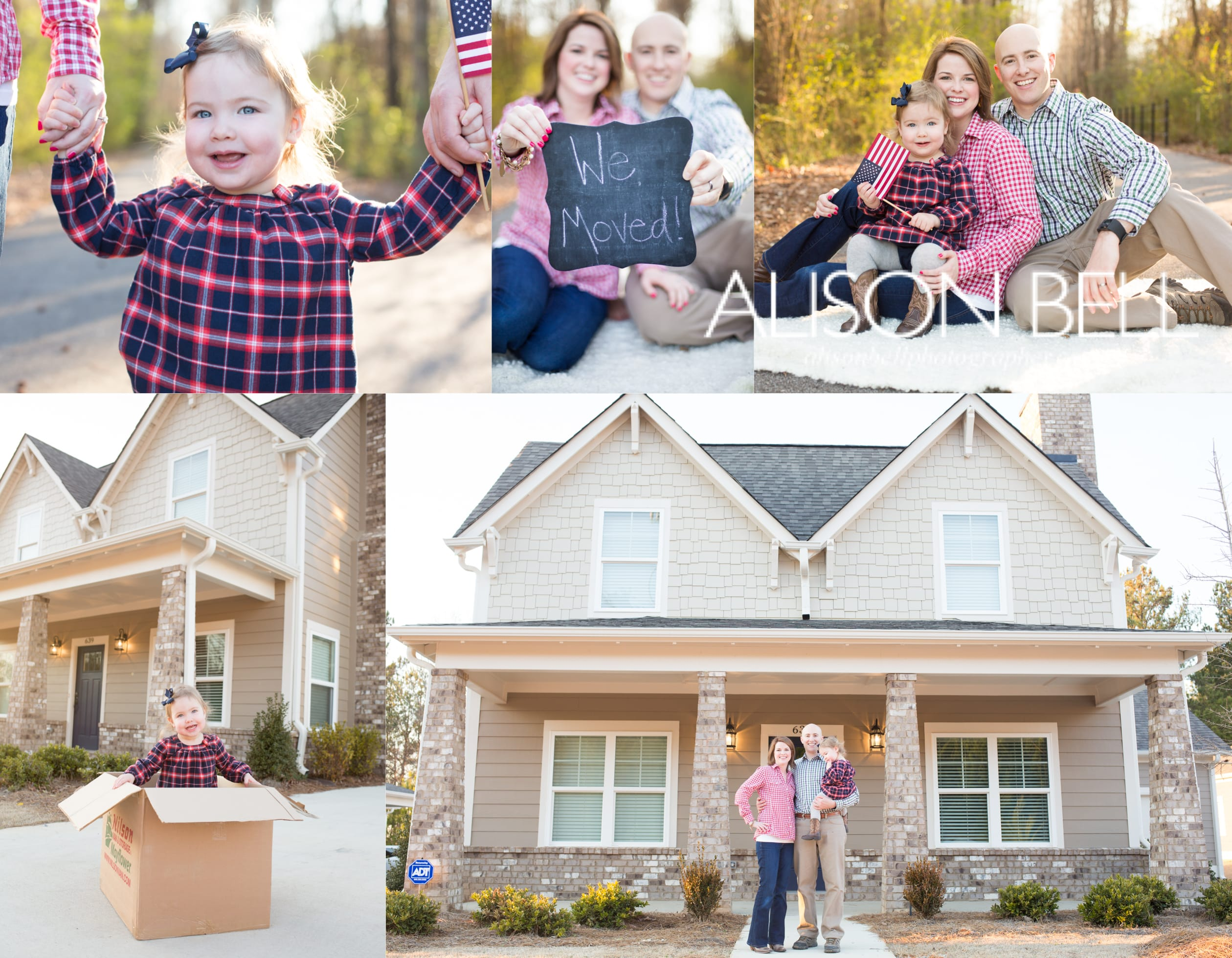 new house, moving, new address, we've moved photo session, photography, alison bell, fort leonard wood missouri