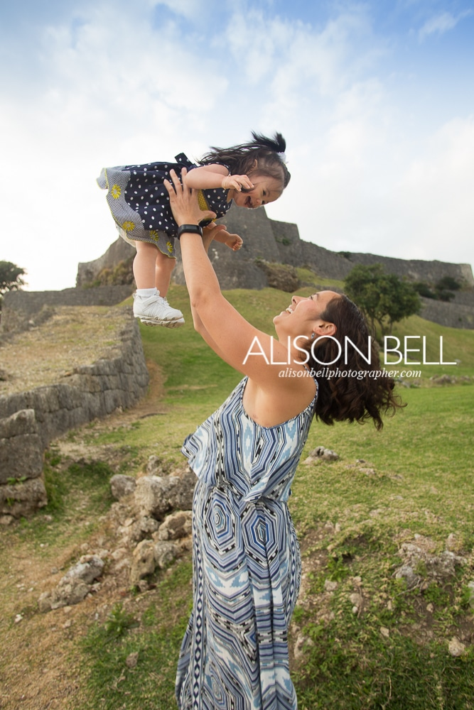 Katsuren, one year, mommy & me, photography, alison bell