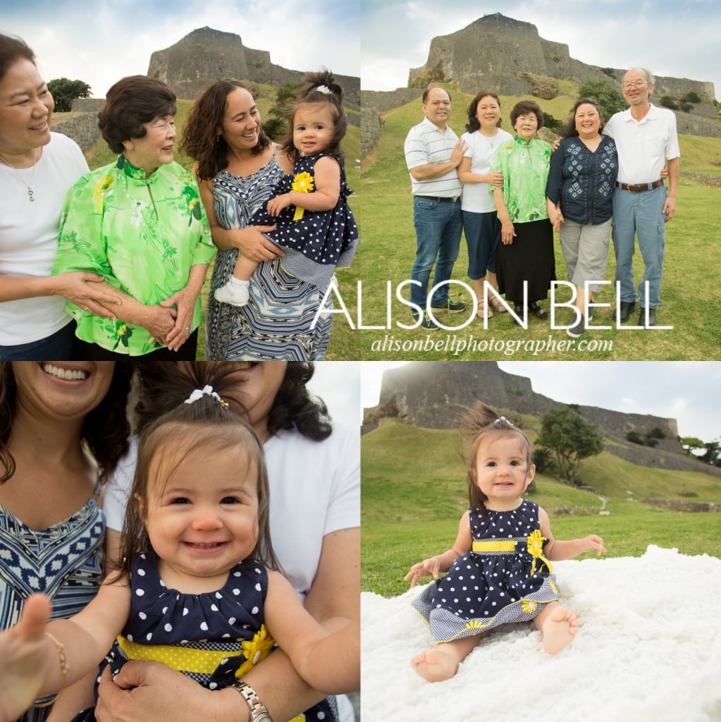 Katsuren, one year, four generations, 4,  photography, alison bell, castle ruins
