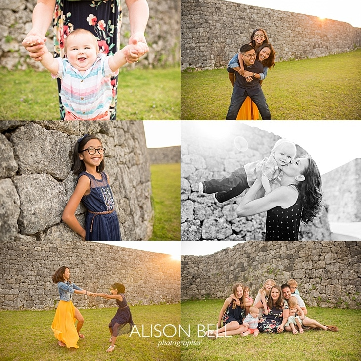 Alison Bell, Photographer, Okinawa, Zakimi Castle, Half priced, mini session