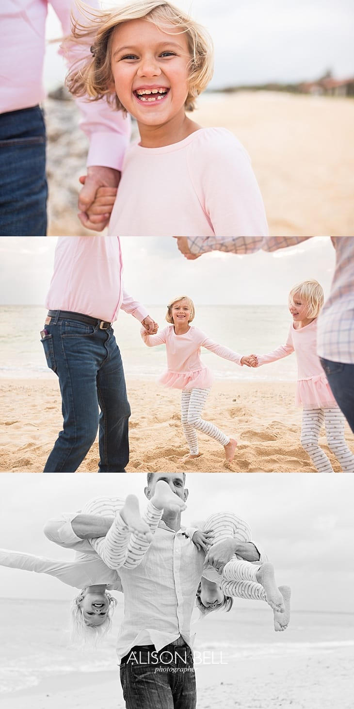 Extended family photo session on the beach in Okinawa, Japan by Alison Bell, Photographer