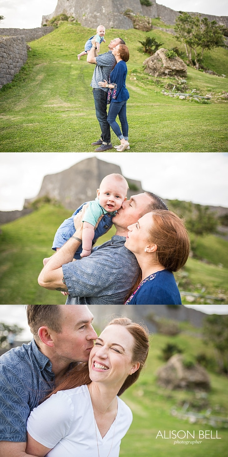 Family Half Price mini session by Alison Bell, Photographer in Okinawa, Japan